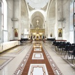 Interiorul Catedralei Sfantul Ilie